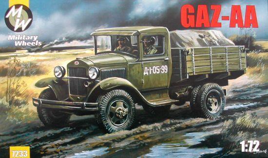 MW7233     GAZ-AA WWII Soviet truck (thumb13379)