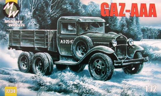 MW7234     GAZ-AAA WWII Soviet truck (thumb13381)