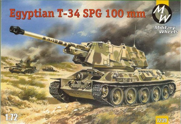 MW7239     T-34 Egyptian 100mm self-propelled gun (thumb13389)