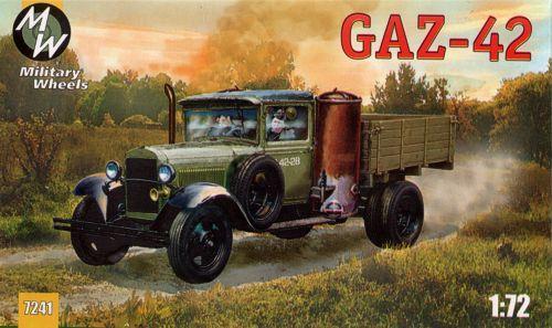 MW7241      GAZ-42 Soviet truck (thumb13393)
