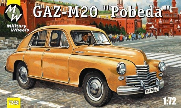 "MW7248     GAZ-M20 ""Pobeda"" Soviet car (thumb13403)"