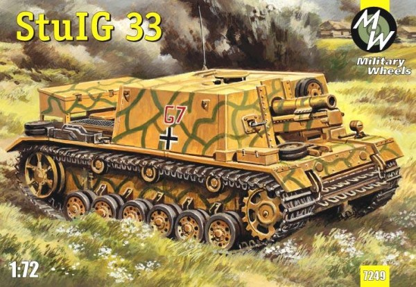 MW7249     StuIG 33 German self-propelled gun (thumb13405)