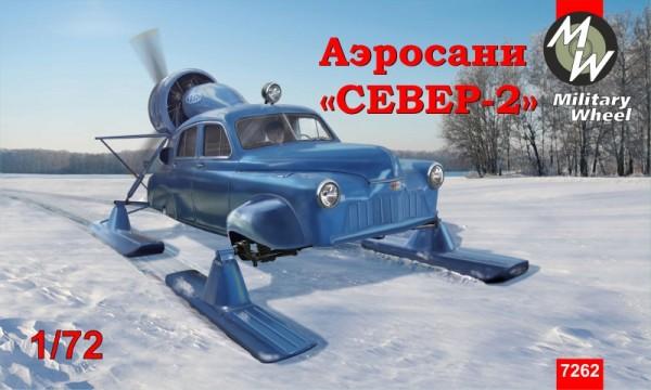 "MW7262     Soviet aerosan ""Sever-2"" (""North-2"") (thumb13425)"
