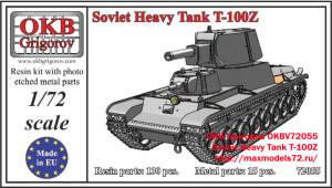 OKBV72055    Soviet Heavy Tank T-100Z (thumb19432)