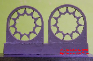 OKBS72240     Tracks for M1 Abrams, T158 with ice cleats (attach2 14303)