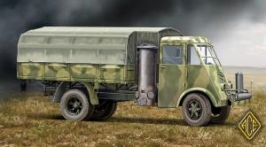 ACE72532    French Gaz Generator Gazifier 3.5t truck AHN (thumb15676)