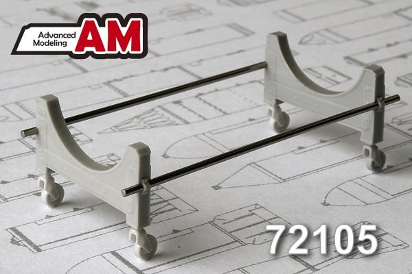 АDМС 72105     Тележка для транспортировки 3000 литрового топливного бака (thumb13957)