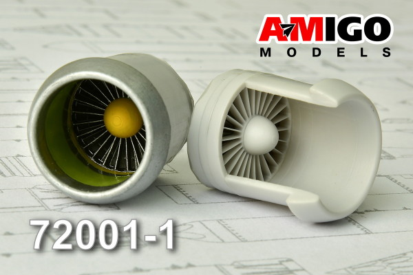 ADMG 72001-1     Входной канал и компрессор низкого давления двигателя Д-30 (thumb13937)