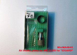 "MiniWA4845    Air intake, pitots for MiG-21BIS for ""EDUARD"" (attach1 15659)"