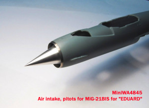 "MiniWA4845    Air intake, pitots for MiG-21BIS for ""EDUARD"" (thumb15659)"