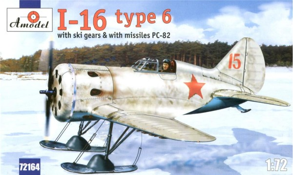 AMO72164   Polikarpov I-16 type 6 Soviet fighter (thumb15289)