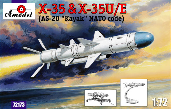 AMO72173   Kh-35 & Kh-35U/E (AS-20 Kayak) Soviet guided missile (thumb15303)