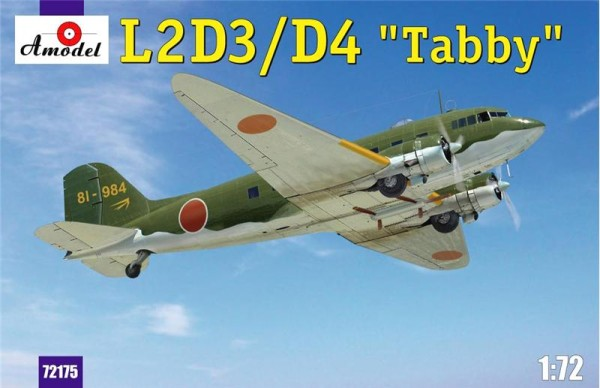 "AMO72175   L2D3/D4 ""Taddy"" Japan transport aircraft (thumb15307)"