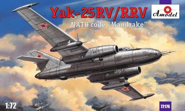 "AMO72176   Yakovlev Yak-25RV/RRV ""Mandrake"" Soviet interceptor (thumb15309)"