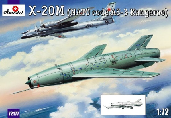 AMO72177   X-20M (AS-3 Kangaroo) Soviet guided missile (thumb15311)