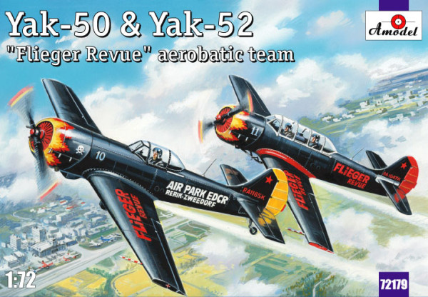 "AMO72179   Yak-50 & Yak-52 ""Flieger Revue"" aerobatic team (thumb15315)"