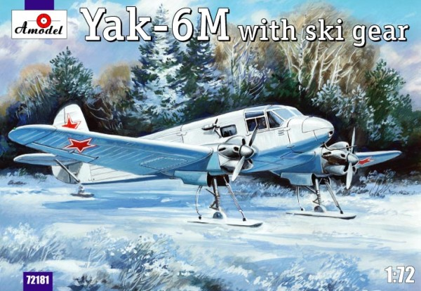 AMO72181   Yakovlev Yak-6M with ski gear (thumb15319)