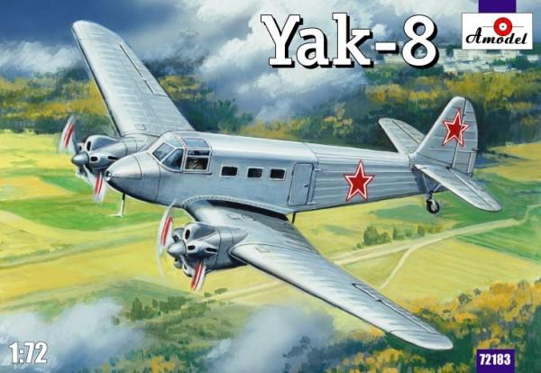 AMO72183   Yakovlev Yak-8 Soviet passenger aircraft (thumb15323)