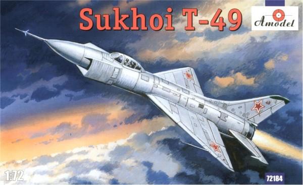 AMO72184   Sukhoi T-49 Soviet interceptor (thumb15325)