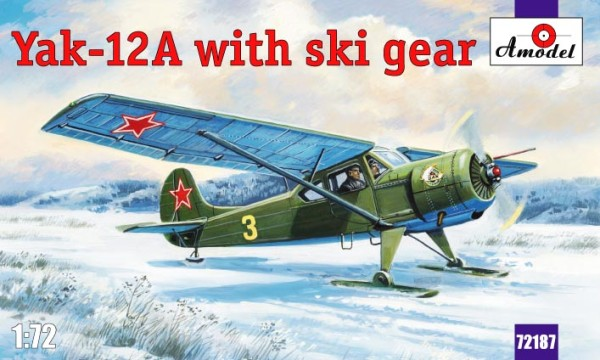 AMO72187   Yakovlev Yak-12A with ski gear (thumb15331)