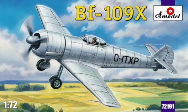 AMO72191   Bf-109X German experimental aircraft (thumb15339)
