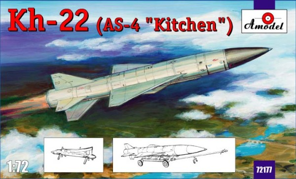 "AMO72196   Kh-22 (AS-4 ""Kitchen"") long-range anti-ship missile (thumb15349)"