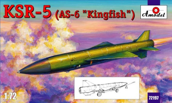 "AMO72197   KSR- 5 (AS-6 ""Kingfish"") long-range anti-ship missile (thumb15351)"