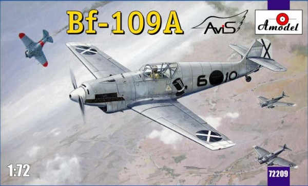 AMO72209   Messerschmitt Bf-109A German fighter (thumb15375)