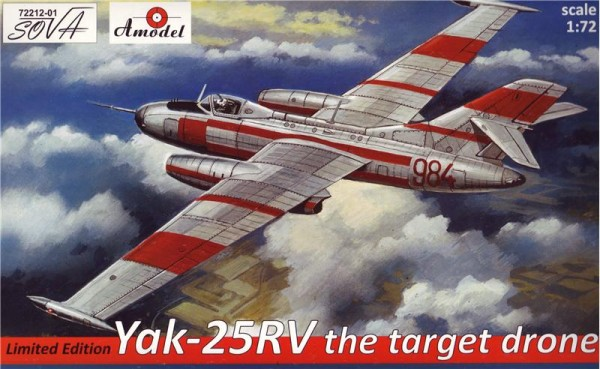 AMO72212-01   Yakovlev Yak-25RV the target dron (limited edition) (thumb15383)