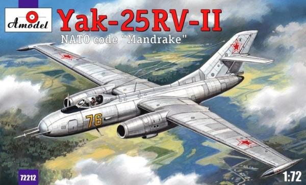 "AMO72212   Yakovlev Yak-25RV-II ""Mandrake"" Soviet interceptor (thumb15381)"