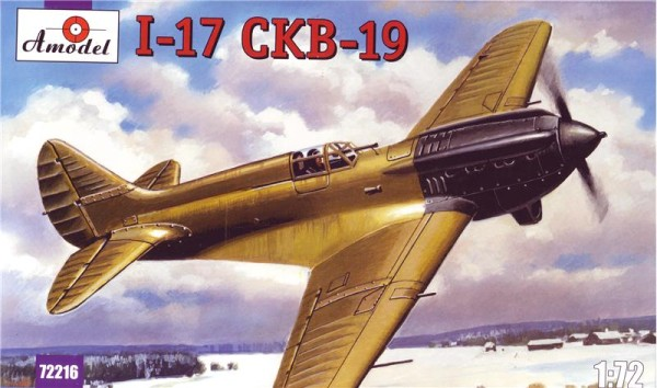 AMO72216   Polikarpov I-17 (CKB-19) Soviet single-seat fighter prototype (thumb15391)