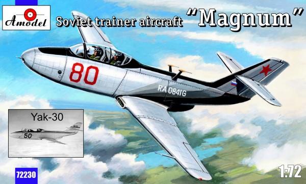 "AMO72230   Yakovlev Yak-30 ""Magnum"" Soviet trainer aircraft (thumb15417)"