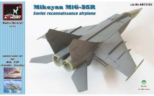 AR AM72103    1/72 Mikoyan MiG-25R reconnaisance plane - conversion set (thumb12639)