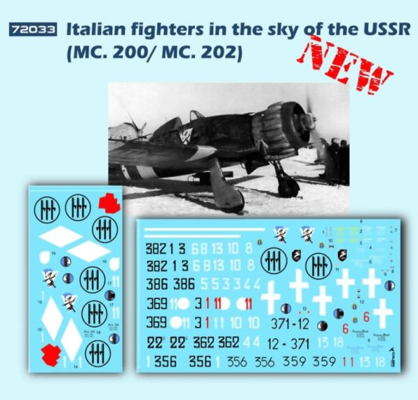 CD72033   ltalian fighters in the sky of the USSR (MC. 200/ MC. 202) (thumb14145)