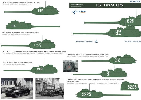 CD72035   IS-1/KV-85 (thumb14151)