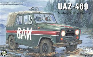 MW3503     UAZ-469 MILTARY POLICE Jeep (thumb13335)