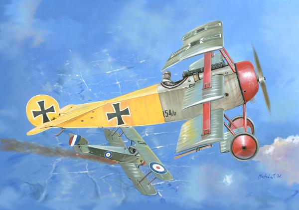 VM14407   Fokker Dr.I (double set) (thumb17819)