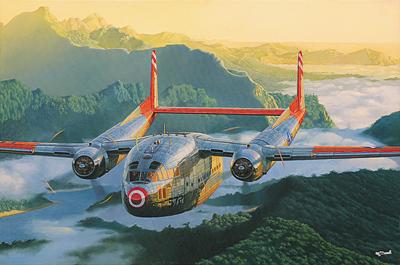 RN321   Fairchild C-119C Boxcar (thumb20327)