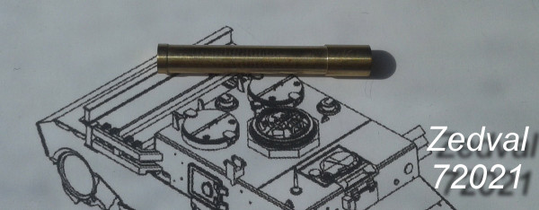 Zd72021     152 мм ствол пушки М-10 для КВ-2         152 mm M-10 gun barrel for KV-2 (thumb14436)