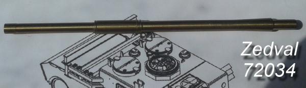 Zd72034      125 мм ствол 2A26 (Д-81) без теплозащитного кожуха.Для Т-72, Т-64  ранних выпусков (thumb14442)