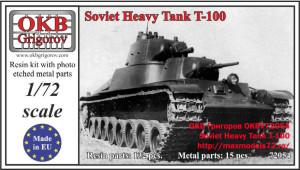OKBV72054    Soviet Heavy Tank T-100 (thumb19422)