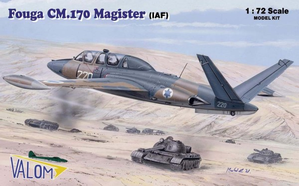 VM72088   Fouga CM.170R Magister (IAF) (thumb17747)