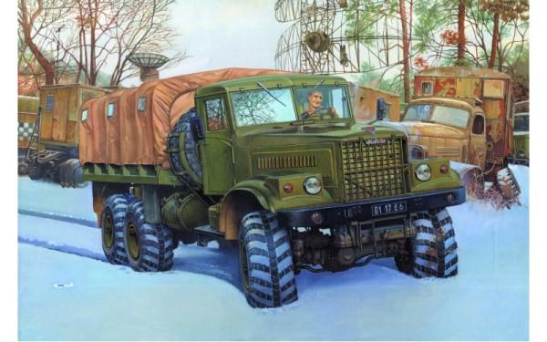 RN805   KrAZ-255B Soviet truck (thumb20371)