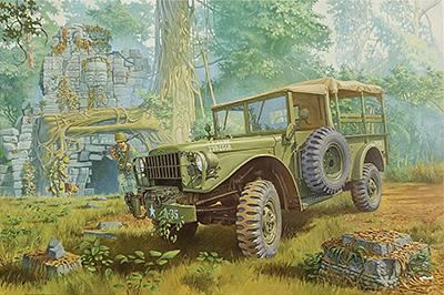 RN806   M37 U.S. 4×4 light cargo truck (thumb20375)