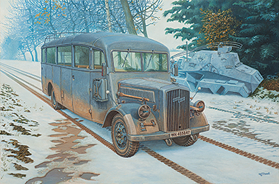 RN807   Opel Blitz 3.6 — 47 Omnibus W39 Ludewig (Essen) (thumb20378)