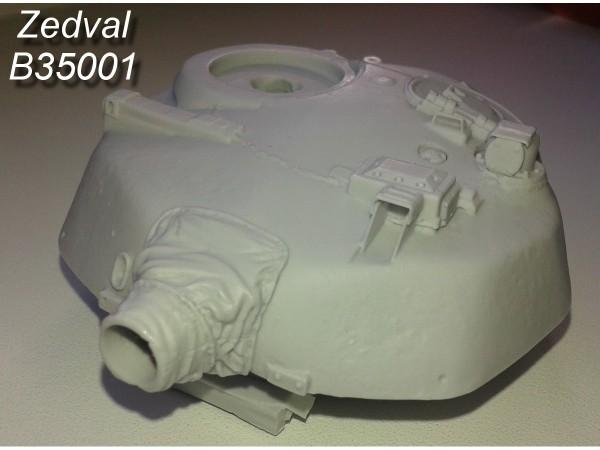 """ZdB35001     Башня Т-72 """"Урал"""". (thumb13844)"""