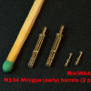 MiniWA48 38a     M134 Minigun (early) barrels (2 pieces) (thumb14629)