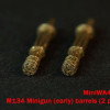 MiniWA48 38a     M134 Minigun (early) barrels (2 pieces) (attach2 14629)