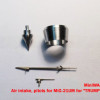 "MiniWA48 34     Air intake, pitots for MiG-21UM for ""TRUMPETER"" (attach2 14621)"