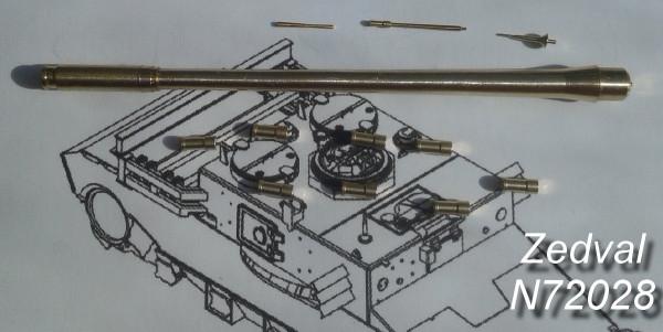 ZdN72028     Набор деталей для Т-55М, Т-55АМ (thumb14440)